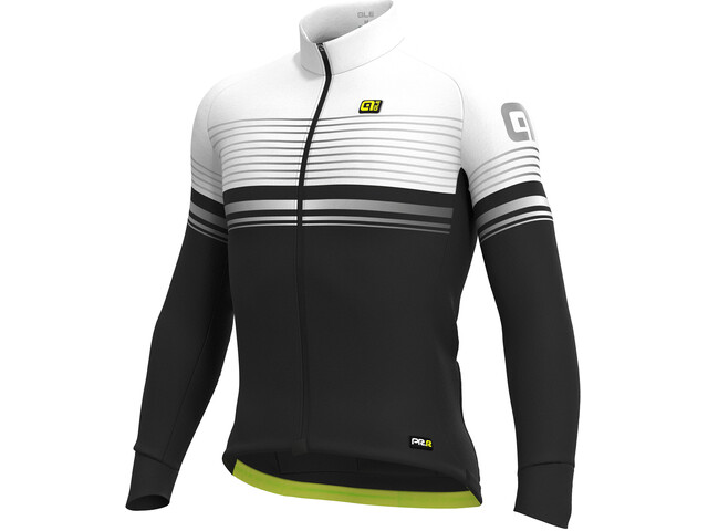 Alé Cycling Graphics PRR Slide Micro Maillot Hombre, black-white